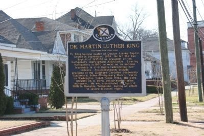 Dr. Martin Luther King Marker image. Click for full size.