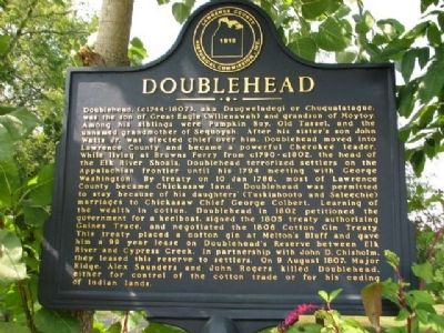 Doublehead Marker image. Click for full size.