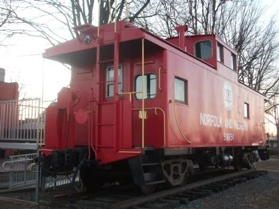 The Restored Caboose image. Click for full size.