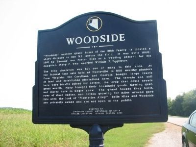 Woodside Marker image. Click for full size.