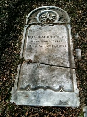 William Scarborough's Stone image. Click for full size.
