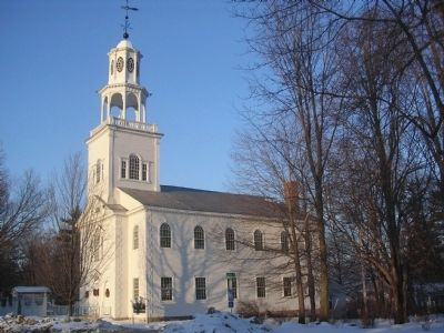 Vermont's Colonial Shrine image. Click for full size.