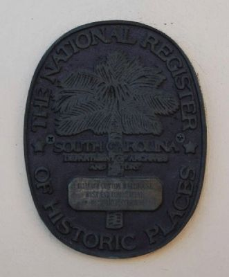Alliance Cotton Warehouse Marker image. Click for full size.