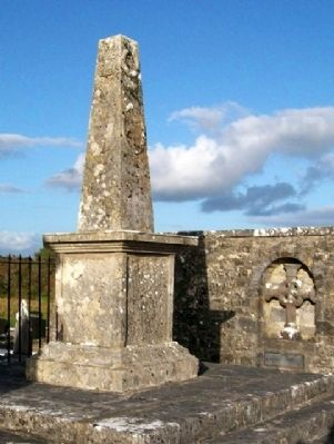 Irwin Spire in Rathmoyle Cemetery image. Click for full size.