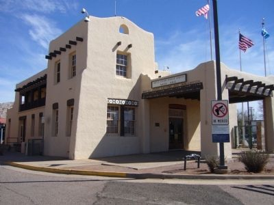 United States Border Station Naco, AZ image. Click for full size.