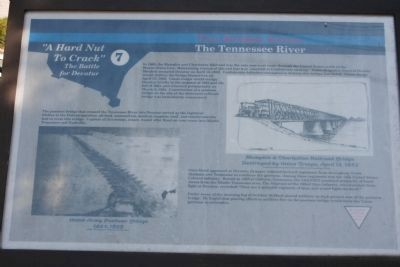 Two Bridges Across The Tennessee River Marker image. Click for full size.