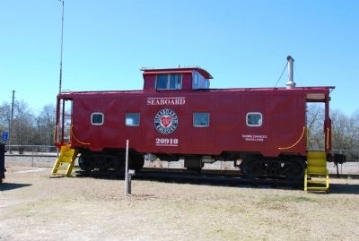 Seaboard Air Line Railway Caboose image. Click for full size.