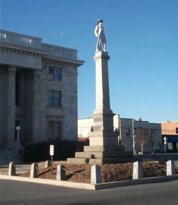 Our Confederate Soldiers Memorial image. Click for full size.