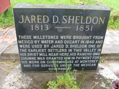 Jared D. Sheldon Marker image. Click for full size.