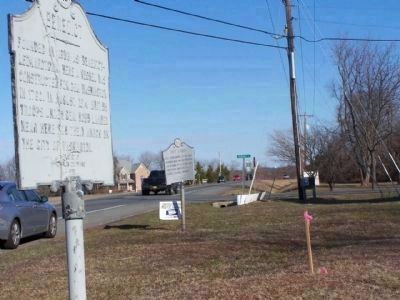 Benedict Marker shares location with Camp Stanton along State Road 231 image. Click for full size.