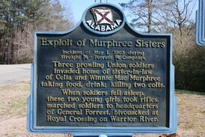 Exploit of Murphree Sisters Marker image. Click for full size.