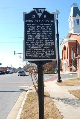 John Craig House Marker image. Click for full size.