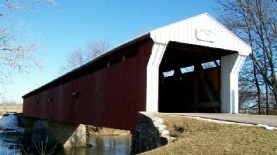 Eldean Covered Bridge image. Click for full size.