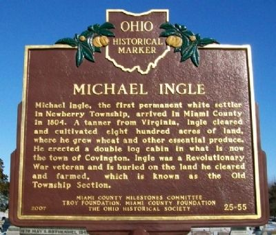 Michael Ingle Marker image. Click for full size.