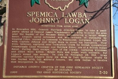 Spemica Lawba-Johnny Logan Marker image. Click for full size.