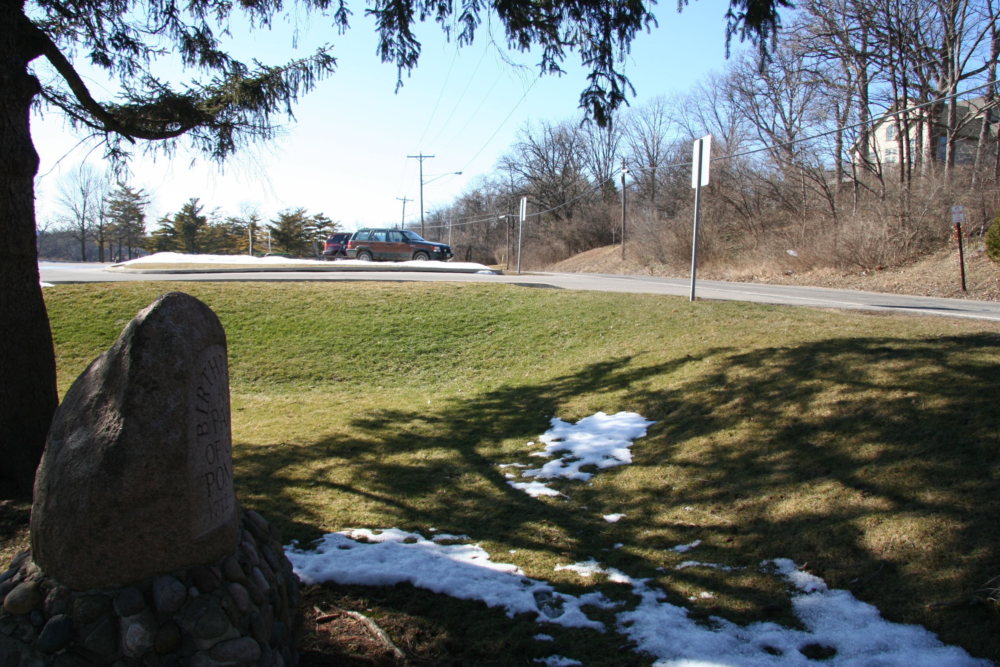 Chief Pontiac Marker