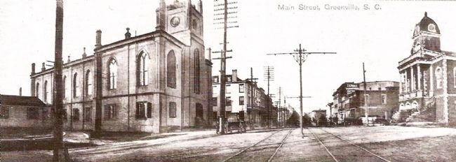 Panorama View of Main Street, Looking North image. Click for full size.