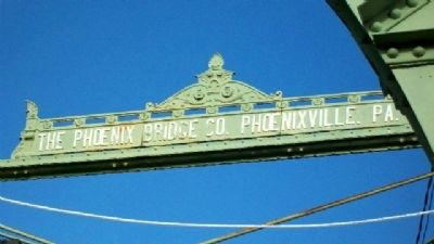 Trenton/Calhoun Street Bridge Maker Sign image. Click for full size.