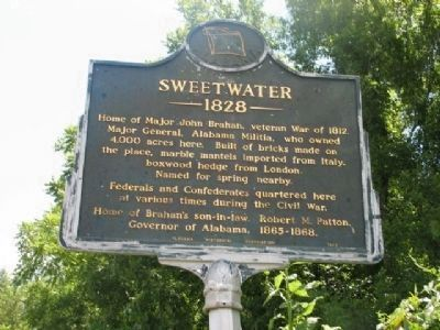 Sweetwater Marker image. Click for full size.
