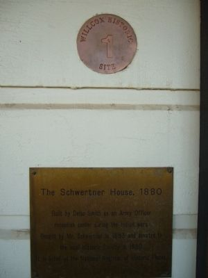 The Schwertner House, 1880 Marker image. Click for full size.
