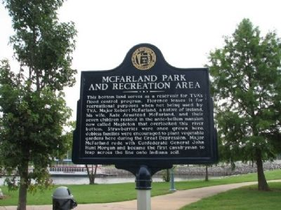McFarland Park and Recreation Area Marker image. Click for full size.