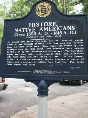 Historic Native Americans - Side B image. Click for full size.