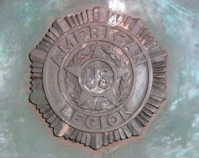 Closeup of the American Legion Logo image. Click for full size.