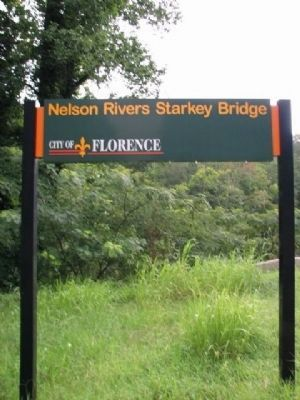 Nelson Rivers Starkey Bridge City of Florence image. Click for full size.