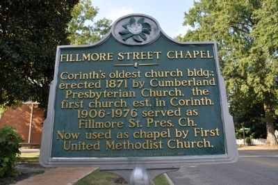 Fillmore Street Chapel Marker image. Click for full size.