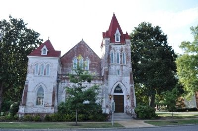 Fillmore Street Chapel/First United Methodist Church of Corinth MS image. Click for full size.