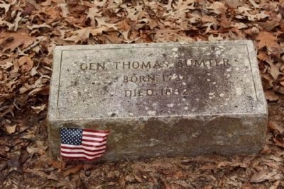 Gen. Thomas Sumter image. Click for full size.