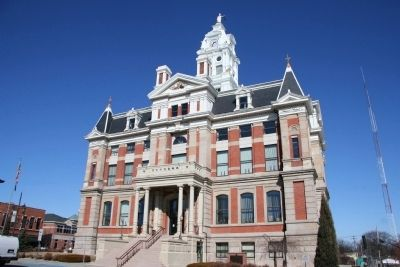 The Henry County Courthouse image. Click for full size.