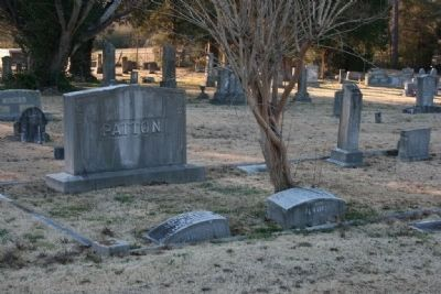 Gravesite of Robert and Ann Eliza Patton image. Click for full size.