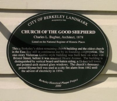 Church of the Good Shepherd Marker image. Click for full size.