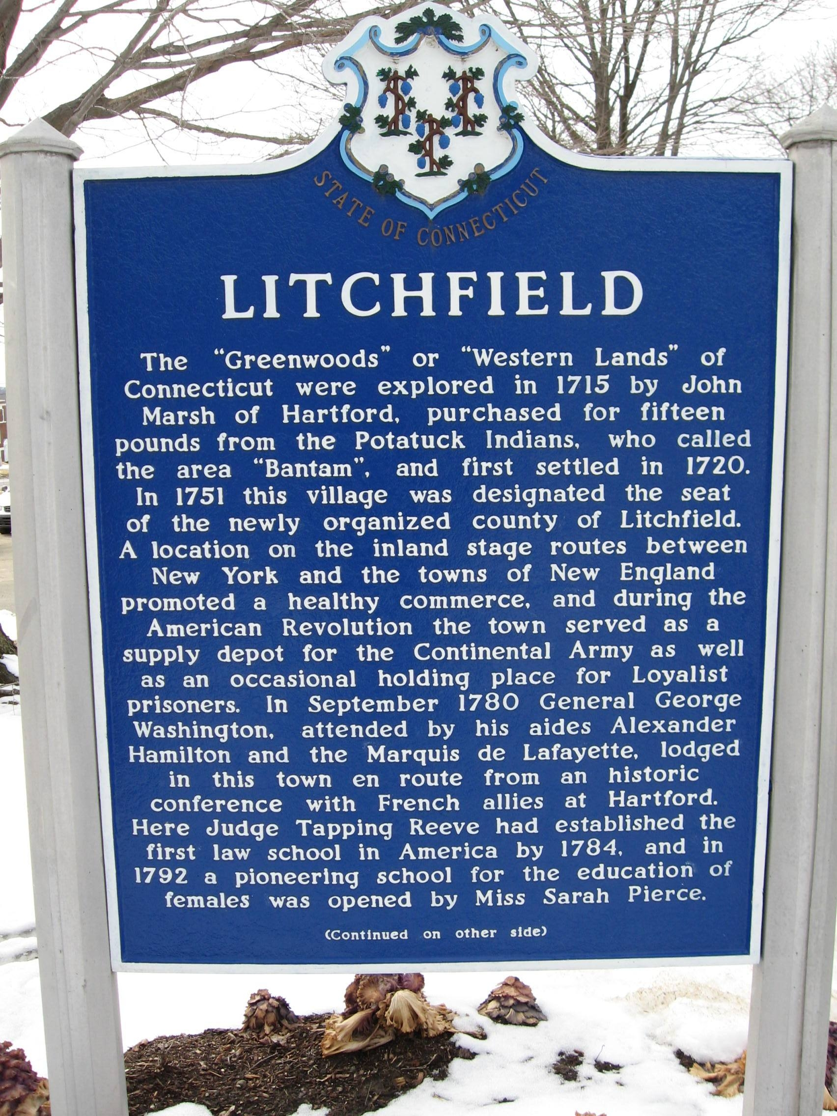 Litchfield Marker