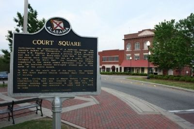 Court Square Marker image. Click for full size.