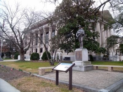 Johnston County Courthouse image. Click for full size.