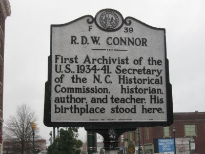 R.D.W. Connor Marker image. Click for full size.