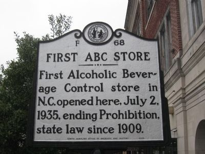 First ABC Store Marker image. Click for full size.