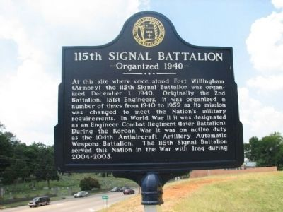 115th Signal Battalion Marker image. Click for full size.
