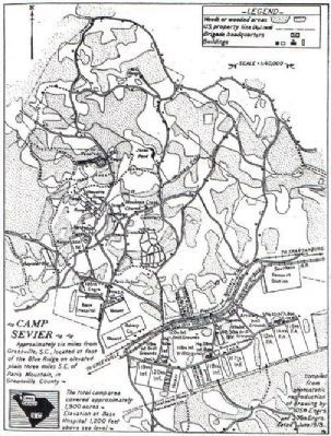 Camp Sevier Map image. Click for full size.