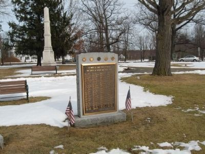 Litchfield Vietnam War Monument image. Click for full size.