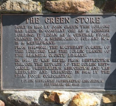 The Green Store Marker image. Click for full size.