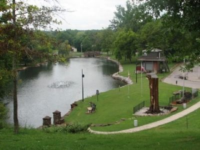 Tuscumbia Big Spring Park image. Click for full size.