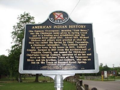 American Indian History Marker Side 1 image. Click for full size.