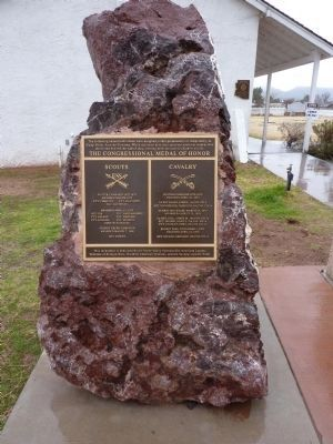 The Congressional Medal of Honor Monument image. Click for full size.