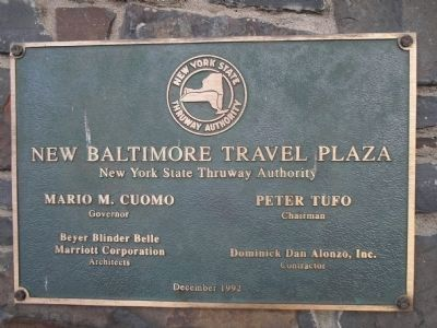 New Baltimore Travel Plaza image. Click for full size.
