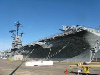 The USS Hornet image. Click for full size.