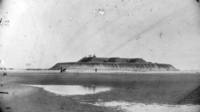 Fort Fisher, North Carolina. Battery Buchanan image. Click for full size.