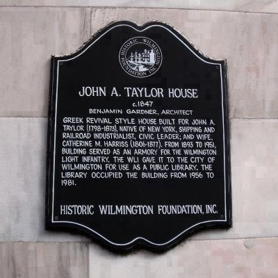 John A. Taylor House image. Click for full size.